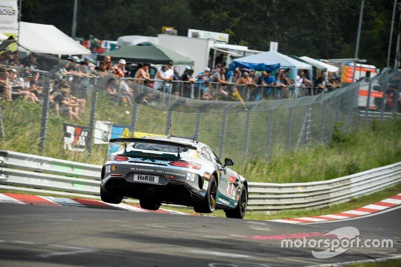 Yannick Mettler, Tobias Müller, Tim Scheerbarth, Tristan Viidas, Mercedes-AMG GT4, Black Falcon