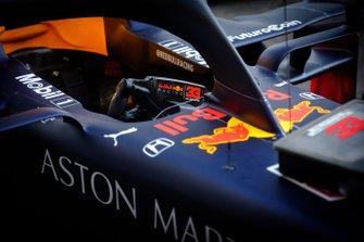 Cabina de Red Bull Racing RB15 de Max Verstappen