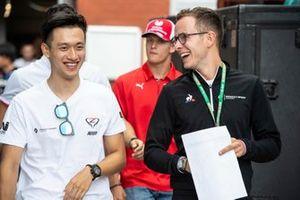 Guanyu Zhou, UNI Virtuosi Racing and Anthoine Hubert, Arden