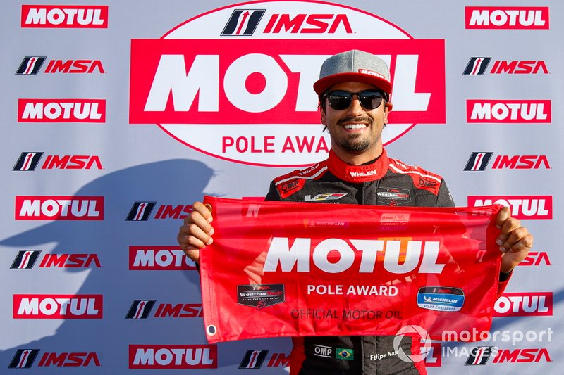 #31 Whelen Engineering Racing Cadillac DPi, DPi: Felipe Nasr, Motul Pole Award