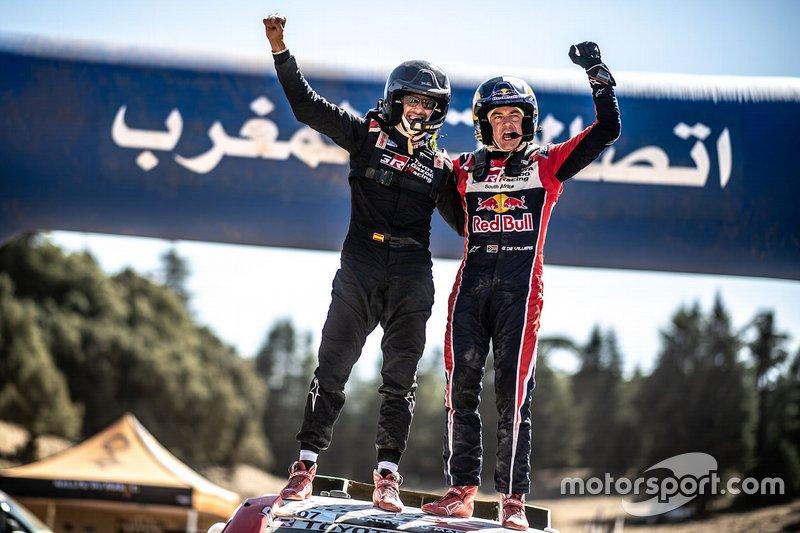 Los ganadores: #307 Toyota Gazoo Racing Toyota Hilux: Giniel de Villiers, Alex Haro