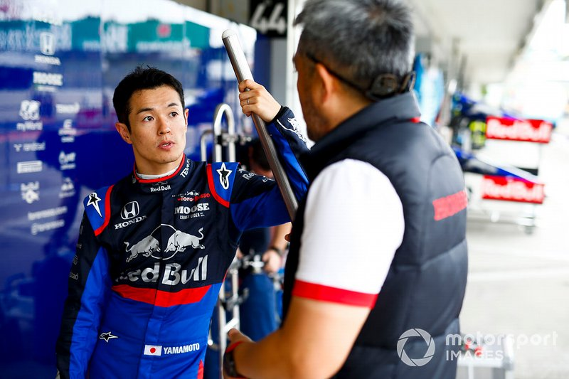 Naoki Yamamoto, Toro Rosso et Masashi Yamamoto, directeur général de Honda Motorsport