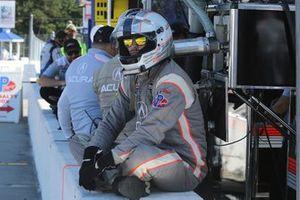 #7 Acura Team Penske crew member