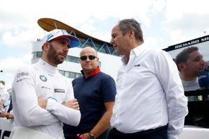 Philipp Eng, BMW Team RBM, mit Gerhard Berger