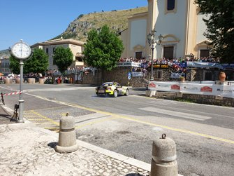 Андреа Нучита и Бернардо ди Каро, LORAN s.r.l, Abarth 124 Rally RGT