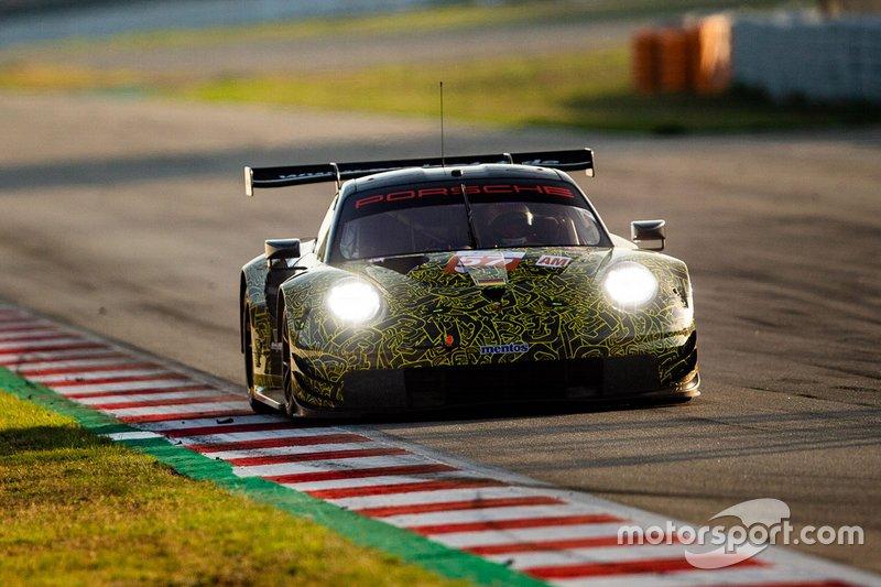 #57 Team Project 1 Porsche 911 RSR: Egidio Perfetti, David Heinemeier Hansson, Matteo Cairolli, Jorg Bergmeister