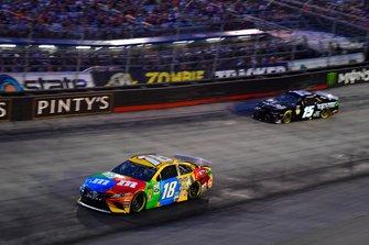 Kyle Busch, Joe Gibbs Racing, Toyota Camry M&M's, Ross Chastain, Premium Motorsports, Chevrolet Camaro Chantz Auto Group