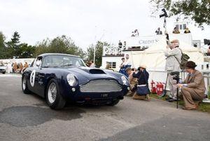 Kinrara Trophy Turner Hadfield Aston Martin DB4
