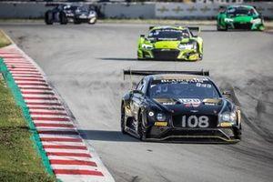 #108 Bentley Team M-Sport Bentley Continental GT3: Callum MacLeod, Andy Soucek, Maxime Soulet