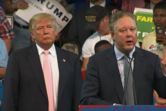 Donald Trump and Brian France