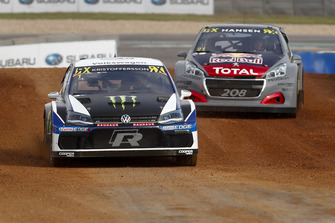 Johan Kristoffersson, PSRX Volkswagen Sweden, Timmy Hansen, Team Peugeot Total