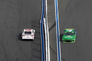 Cole Whitt, TriStar Motorsports, Chevrolet Camaro Rinnai, Kyle Larson, Chip Ganassi Racing, Chevrolet Camaro Clover/First Data