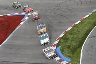 Daniel Suarez, Joe Gibbs Racing, Toyota Camry Lenox William Byron, Hendrick Motorsports, Chevrolet Camaro Unifirst