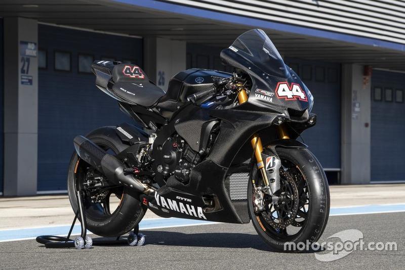 La Yamaha con la que rodó Hamilton