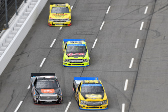 Grant Enfinger, ThorSport Racing, Ford F-150 Protect the Harvest, Todd Gilliland, Kyle Busch Motorsports, Toyota Tundra JBL/SiriusXM, Matt Crafton, ThorSport Racing, Ford F-150 Chi-Chis/Menards,John Hunter Nemechek, NEMCO Motorsports, Chevrolet Silverado