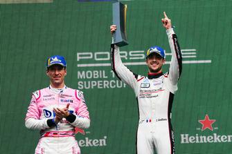 Podio: Michael Ammermüller, BWT Lechner Racing, Julien Andlauer, martinet by ALMERAS