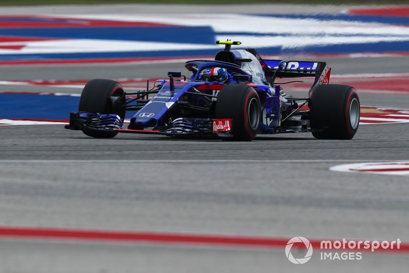14. Pierre Gasly, Scuderia Toro Rosso STR13