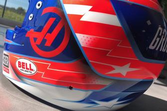 US GP helmet unveil
