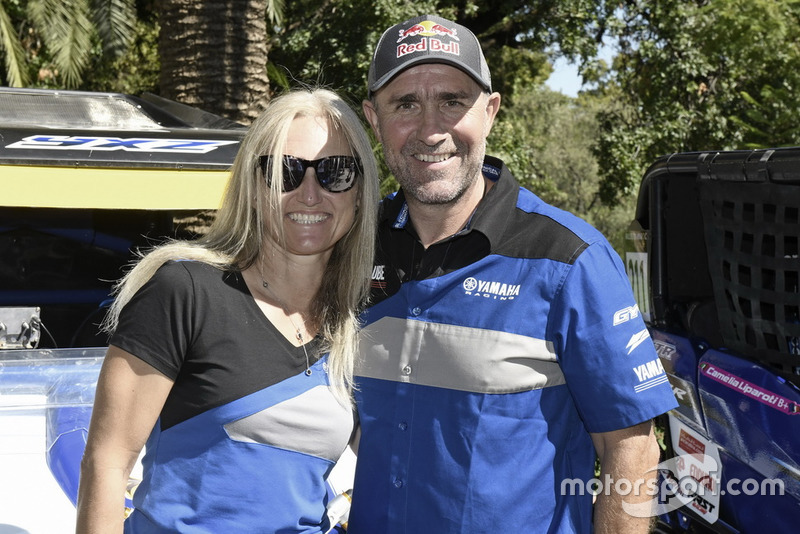 #200 Yamaha Racing: Stephane Peterhansel, Andrea Peterhansel