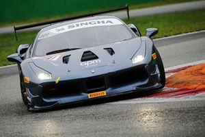 Ferrari 488 #401, Blackbird Concessionaries: Philippe Prette
