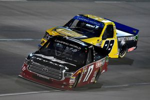 David Gilliland, DGR-Crosley Toyota Tundra Crosley Brands / Frontline Enterprises / DGR CROSLEY and Grant Enfinger, ThorSport Racing, Ford F-150 Protect The Harvest/Curb Records