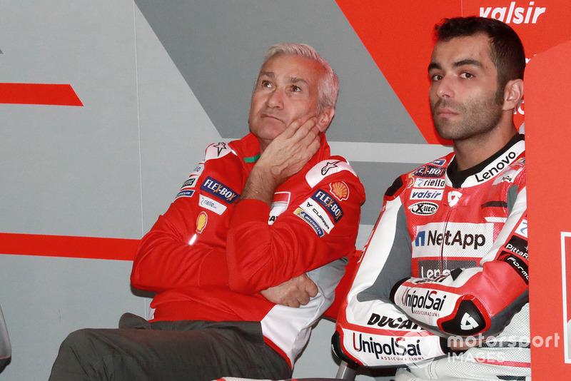 Davide Tardozzi, Danilo Petrucci, Ducati Team