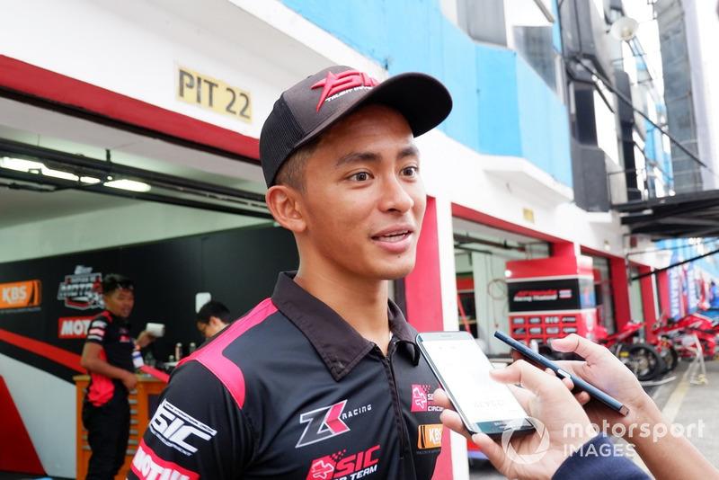 Zulfahmi Khairuddin, ZK Racing Kawasaki