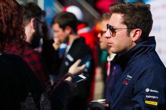 Robin Frijns, Envision Virgin Racing, con los medios