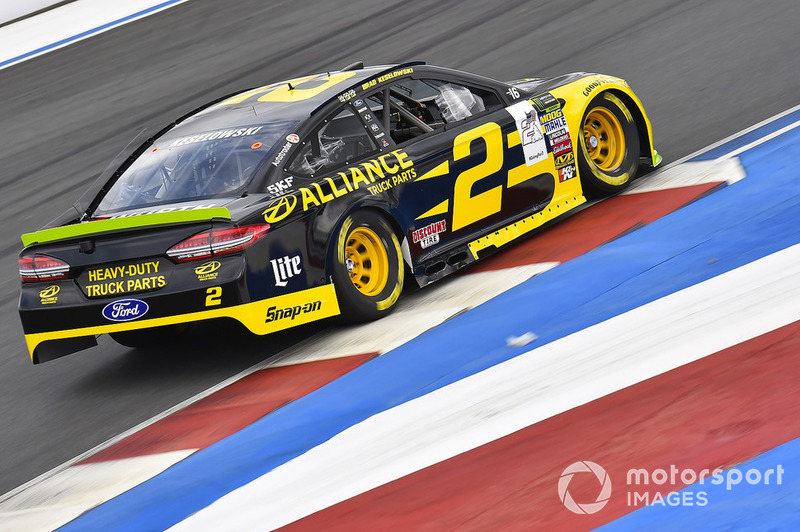 25. Brad Keselowski, Team Penske, Ford Fusion Alliance Truck Parts