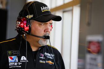 William Byron, Hendrick Motorsports, Chevrolet Camaro Hertz crew chief Darian Grubb