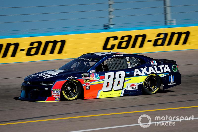 5. Alex Bowman, Hendrick Motorsports, Chevrolet Camaro Axalta