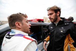 Робин Фрейнс, Virgin Racing, и Жан-Эрик Вернь, DS Techeetah Formula E Team