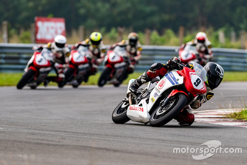 Abhishek Vasudev, Honda India Talent Cup