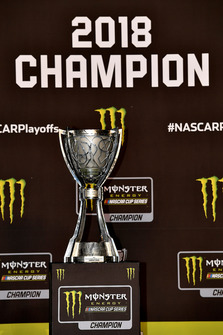 Monster Energy NASCAR Cup Series trophy