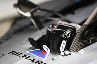 Handschoenen Sébastien Buemi, Nissan e.Dam, Nissan IMO1