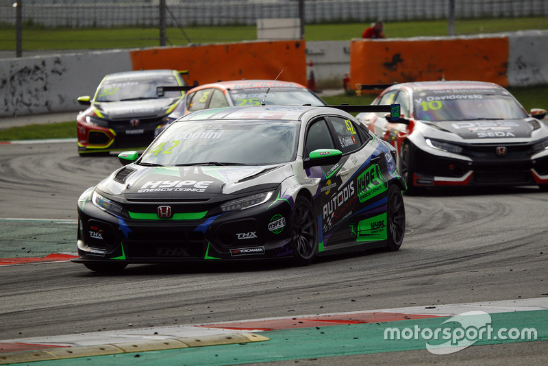 Stefano Comini, THX Racing Civic Type R TCR