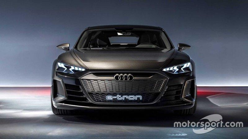 Концепт Audi e-tron GT 2019 року