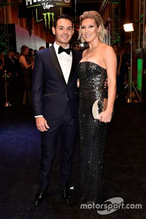Kyle Larson, Chip Ganassi Racing y su esposa Katelyn