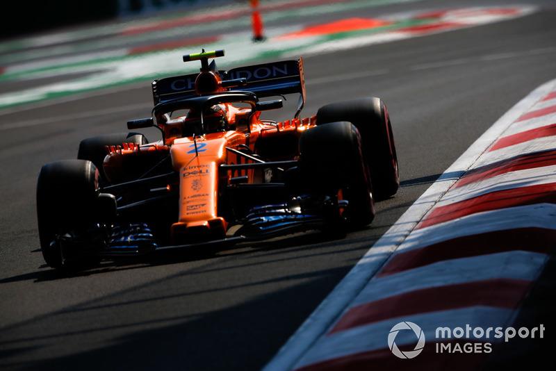 16. Stoffel Vandoorne, McLaren