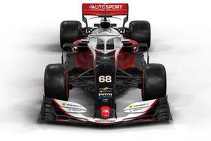 Motorsport Network F1 car mock-up