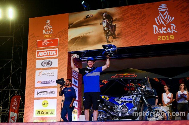 Podium : Yamaha Official Rally Team: Xavier De Soultrait