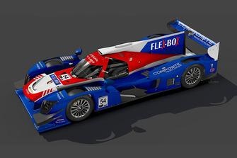 La Nissan-Ligier di CORE autosport per la 24 Ore di Daytona