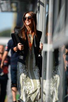 Jemma Boskovich, girl friend of Daniel Ricciardo