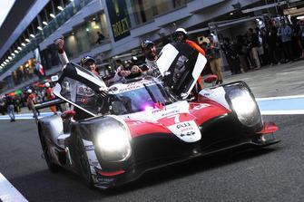 Yarış galibi #7 Toyota Gazoo Racing Toyota TS050: Mike Conway, Kamui Kobayashi, Jose Maria Lopez