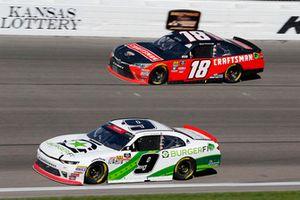 Tyler Reddick, JR Motorsports, Chevrolet Camaro BurgerFi and Ryan Preece, Joe Gibbs Racing, Toyota Camry Craftsman