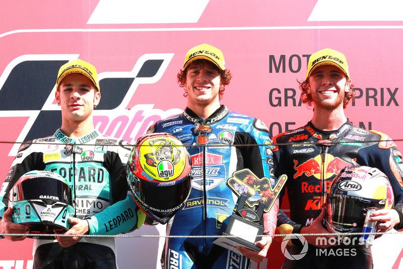 Lorenzo Dalla Porta, Leopard Racing, Marco Bezzecchi, Prustel GP, Darryn Binder, Red Bull KTM Ajo