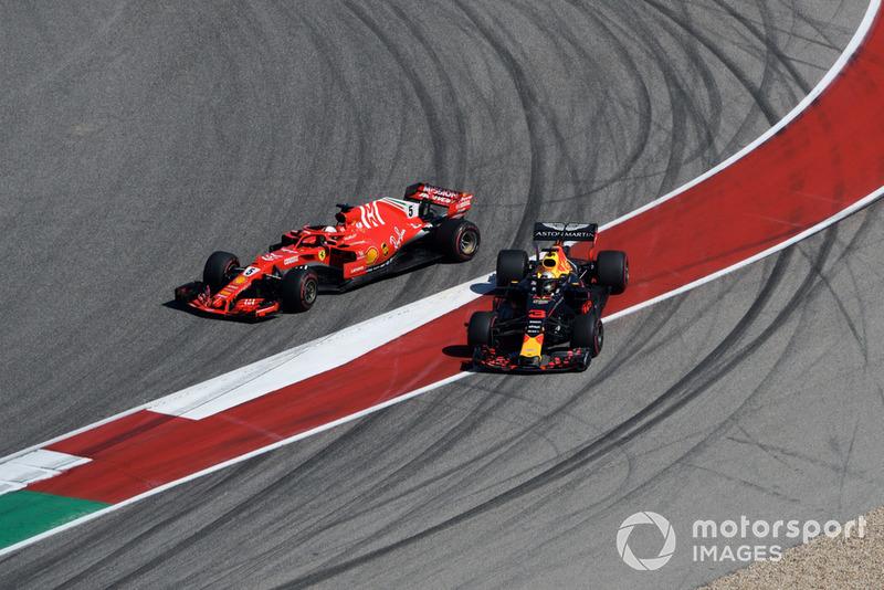 Estados Unidos - Sebastian Vettel/Daniel Ricciardo (carrera)