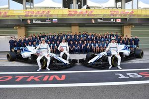 Sergey Sirotkin, Williams Racing, Robert Kubica, Williams and Lance Stroll, Williams Racing at the Williams Racing Team Photo