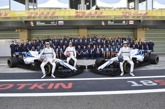 Sergey Sirotkin, Williams Racing, Robert Kubica, Williams and Lance Stroll, Williams Racing at the Williams Racing Team Photo