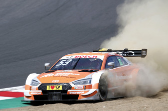 Jamie Green, Audi Sport Team Rosberg, Audi RS 5 DTM through the gravel